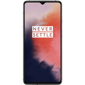 OnePlus 7T 128GB Smartphone (Factory Unlocked, Frosted Silver)