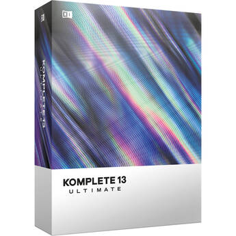 Native Instruments KOMPLETE 13 ULTIMATE - Virtual Instruments and Effects Collection (Upgrade from KOMPLETE SELECT)