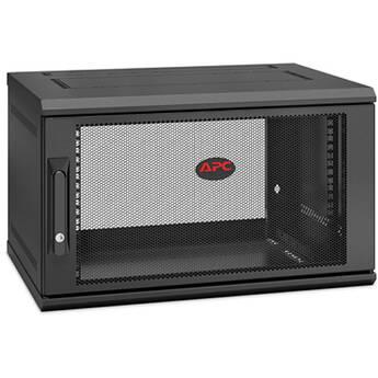 APC NetShelter WX 6U Single-Hinged Wall-Mount Enclosure (400mm Deep, 6 RU)