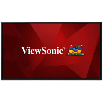 """ViewSonic CDE5520 55"""" Class 4K UHD Commercial Display"""