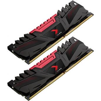 PNY Technologies 32GB XLR8 Gaming 3200 MHz Desktop Memory Kit (2 x 16GB)