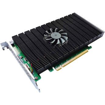 HighPoint SSD7505 PCIe 4.0 x16 4-Channel M.2 NVMe RAID Controller