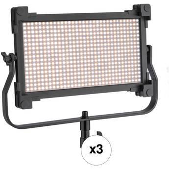 Genaray Spectro LED 800B1 Bi-Color Studio LED Three Light Kit
