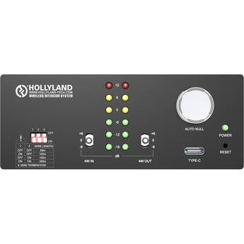 Hollyland 2/4 Wire Converter for Intercom Systems