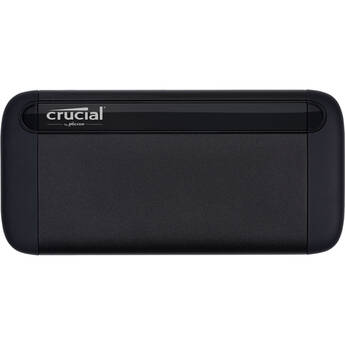 Crucial 2TB X8 External USB 3.2 Gen 2 Type-C Solid-State Drive