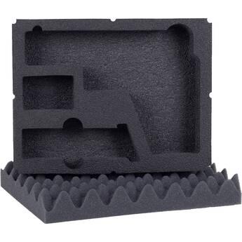Seahorse 2-Piece Single Pistol Foam Set for 300 Case (Black)