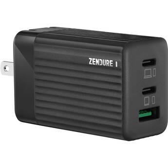 ZENDURE SuperPort S3 65W 3-Port Dual PD & GaN Laptop Charger (Black)