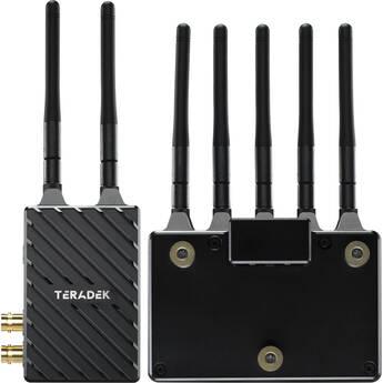 Teradek Bolt 4K LT 1500 3G-SDI/HDMI Wireless RX/TX Deluxe Kit (Gold Mount)