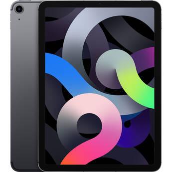 "Apple 10.9"" iPad Air (4th Gen, 256GB, Wi-Fi + 4G LTE, Space Gray)"