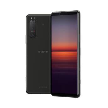 Sony Xperia 5 II Dual-SIM 128GB Smartphone (Unlocked, Black)
