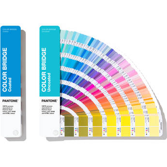 Pantone Coated and Uncoated Color Bridge Guide Set