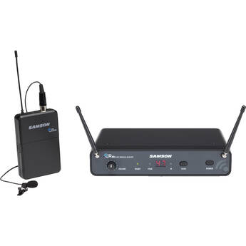 Samson Concert 88x Wireless Lavalier Microphone System with LM10 Miniature Lav (D: 542 to 566 MHz)