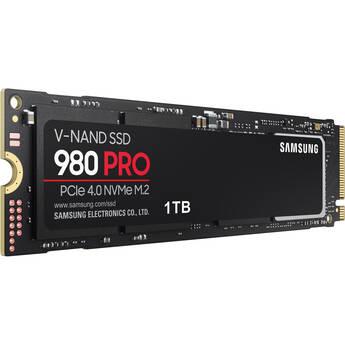 Samsung 1TB 980 PRO PCIe 4.0 x4 M.2 Internal SSD