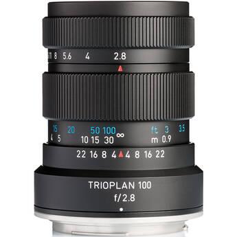 Meyer-Optik Gorlitz Trioplan 100mm f/2.8 II Lens for Canon EF