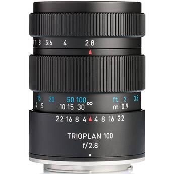 Meyer-Optik Gorlitz Trioplan 100mm f/2.8 II Lens for Nikon F