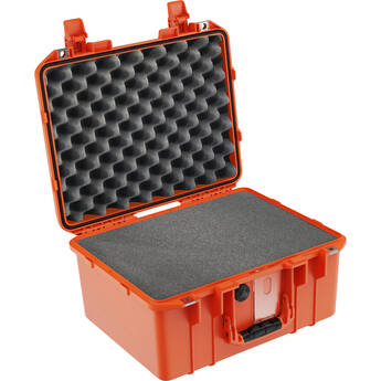 Pelican 1507AirWF Hard Carry Case with Foam Insert and Liner (Orange)