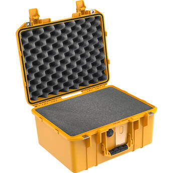 Pelican 1507AirWF Hard Carry Case with Foam Insert and Liner (Yellow)