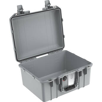 Pelican 1507AirNF Hard Carry Case with Liner, No Insert (Silver)