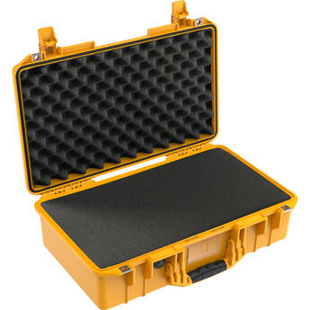 Pelican 1525AirWF Hard Carry Case with Foam Insert and Liner (Yellow)
