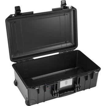 Pelican 1535AirNF Wheeled Carry-On Hard Case with Liner, No Insert (Black)