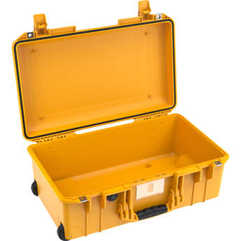 Pelican 1535AirNF Wheeled Carry-On Hard Case with Liner, No Insert (Yellow)