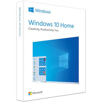 Microsoft Windows 10 Home (32/64-bit, USB Flash Drive)