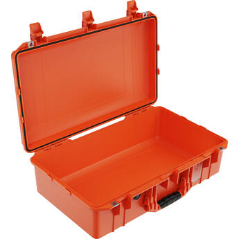 Pelican 1555AirNF Hard Carry Case with Liner, No Insert (Orange)