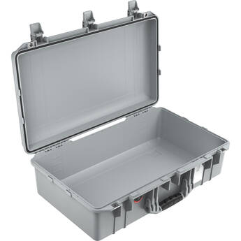 Pelican 1555AirNF Hard Carry Case with Liner, No Insert (Silver)