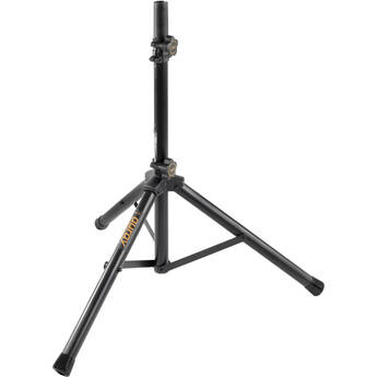 Auray SS-25S Compact Height-Adjustable Steel Speaker Stand with Tripod base