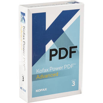 KOFAX Power PDF 3.0 Advanced (Boxed)