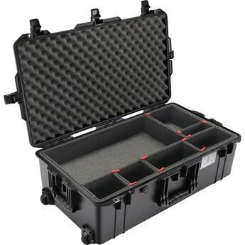 Pelican 1615AirTP Wheeled Hard Case with TrekPak Divider Insert System (Black)