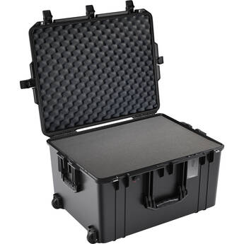 Pelican 1637AirWF Wheeled Hard Case with Foam Insert (Black)