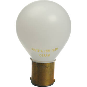 Sylvania / Osram PH111A Lamp (75W/125V, 6-Pack)