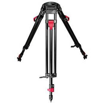 Cartoni Red Lock 3-Tube Aluminum Tripod