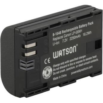 Watson LP-E6NH Lithium-Ion Battery Pack (7.2V, 2250mAh)