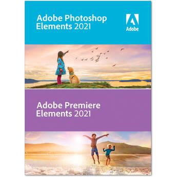 Adobe Photoshop Elements & Premiere Elements 2021 (DVD, Mac/Windows)