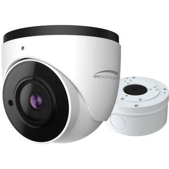 Speco Technologies O4T7 4MP Outdoor Network Turret Camera with 2.8mm Lens (White)