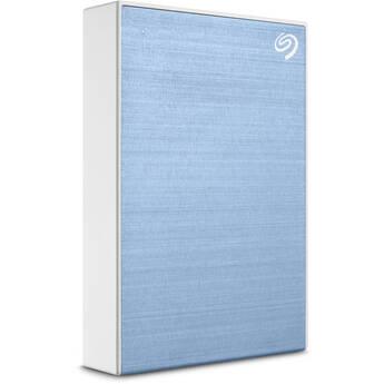 Seagate 2TB One Touch USB 3.2 Gen 1 External Hard Drive (Light Blue)