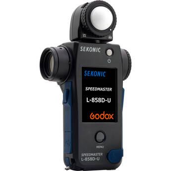 Sekonic L-858D-U Speedmaster Light Meter Kit with Transmitter Module for Godox