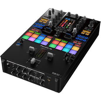 Pioneer DJ DJM-S11 Professional 2-Channel Battle Mixer for Serato DJ Pro / rekordbox (Black)