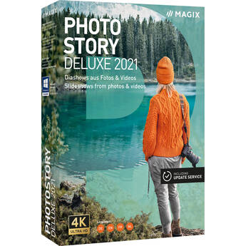 MAGIX Photostory Deluxe 2021 for Windows (Download, Academic Edition)