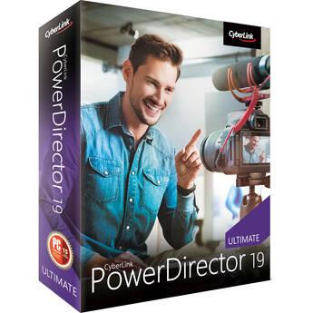 CyberLink PowerDirector 19 Ultimate (DVD and Download Code)
