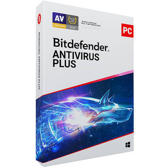 Bitdefender Antivirus Plus for Windows (Download, 3 PCs, 2 Years)