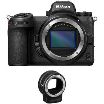 Nikon Z 7II Mirrorless Digital Camera Body with FTZ Adapter Kit