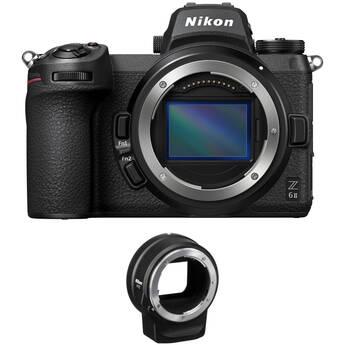 Nikon Z 6II Mirrorless Digital Camera Body with FTZ Adapter Kit