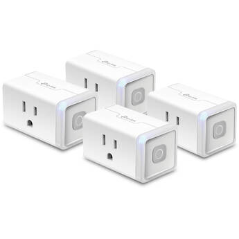 TP-Link HS103 Kasa Smart Wi-Fi Plug Lite (4-Pack)