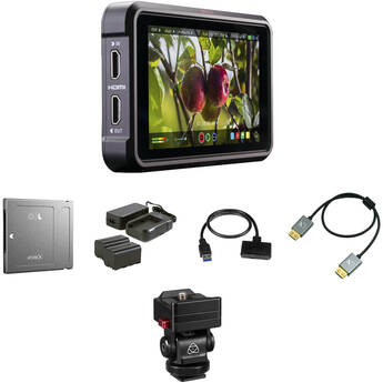 "Atomos Ninja V 5"" 4K Recording Monitor with 1TB Angelbird AtomX SSDmini Kit"
