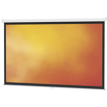 "Da-Lite 40208 Model B Manual Projection Screen (96 x 96"")"