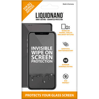 LiquidNano Ultimate Screen Protector for Smartphones with No Assurance