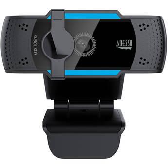 Adesso CyberTrack H5 1080p Auto Focus Webcam
